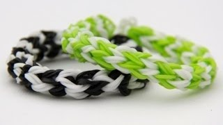 Rainbow Loom Nederlands - Boston Bracelet (Original Design) Loom bands