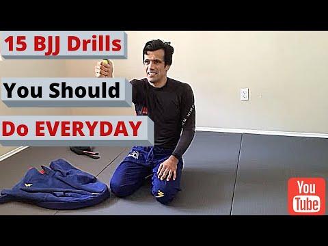 15 BJJ Drills you should do EVERYDAY by Cobrinha