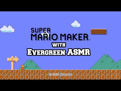 Let's Play ASMR - Super Mario Maker (Whispered)