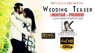 wedding teaser Likhitha + Prudhvi