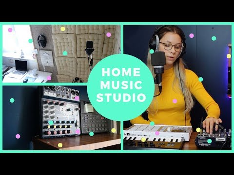 How to Build A Home Music Studio (low budget)