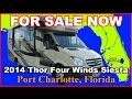 2014 Forest River Solera Siesta 24SR Class C Motorhome, Florida, Pt Charlotte, Ft Myers, Sarasota