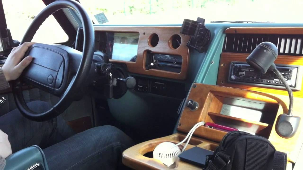 1984 chevy van interior