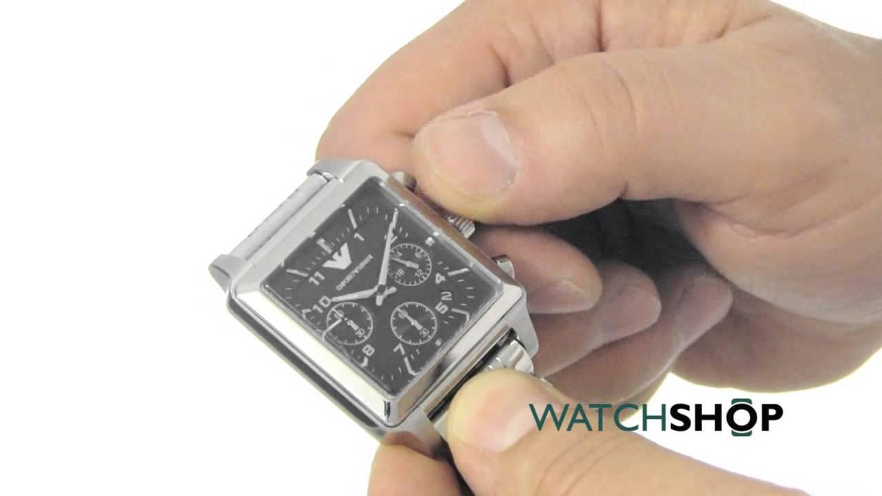 a64f18032c7e Emporio Armani Men s Chronograph Watch (AR1626) - YouTube