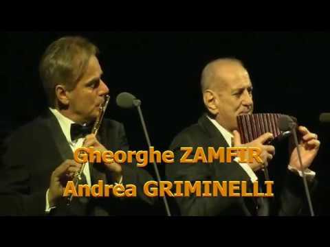 Gheorghe Zamfir & Andrea Griminelli in Andrea Bocelli World Tour - Live