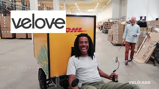 ARMADILLO CARGO BIKE part 1/2 at the VELOVE FACTORY. #082