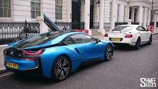 Bentley GT3-R and BMW i8 Vlog with SupercarsofLondon