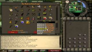 How To Make Cannonballs / ~250k/hour / Runescape 2007 Guide