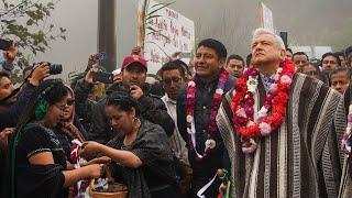 Inauguración del camino rural Santa María Tepantlali y diálogo con el pueblo mixe, desde Oaxaca