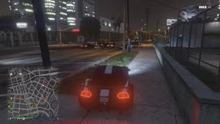 Grand Theft Auto V funny glit