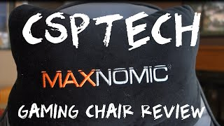 Need For Seat - Maxnomic Casual Sport Gaming Chair Review