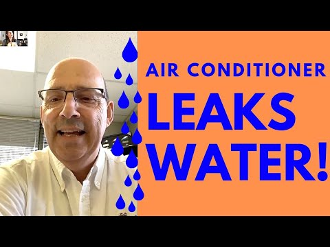 Why Does My Air Conditioner Leak Water? (Air Conditioner Freezing Up?)