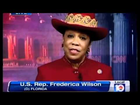 Michael Putney Interviews Rep. Frederica Wilson on Debt Ceiling Debate