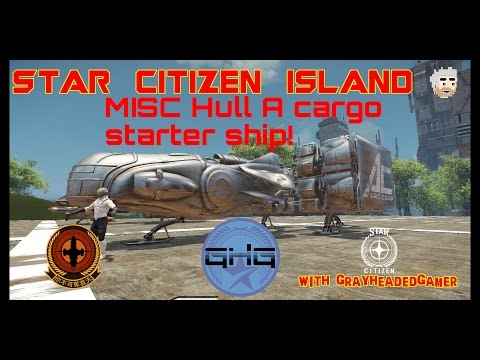 Star Citizen Island - MISC Hull A size comparison