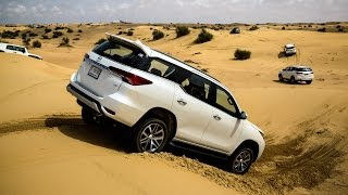 The All-New 2016 Toyota Fortuner Launch - Meydan Hotel Dubai