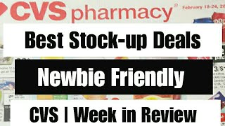 CVS Deals a Week in Review | Best Coupon Stock-up Deals | Feb 18th-Feb 24th 2018