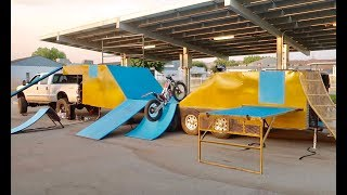 SHREDDING THE NEW STUNT SHOW TRAILER!!!