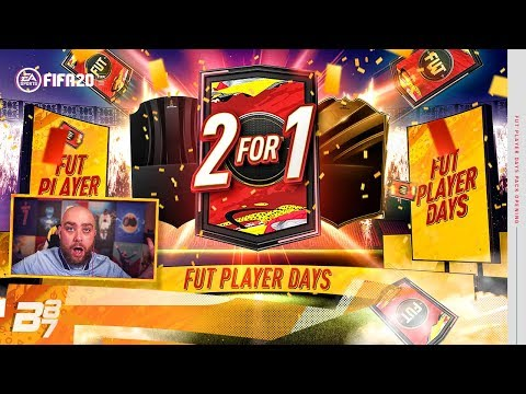 FUT PLAYER DAYS! 2 FOR 1 PROMO PACKS! | FIFA 20 ULTIMATE TEAM
