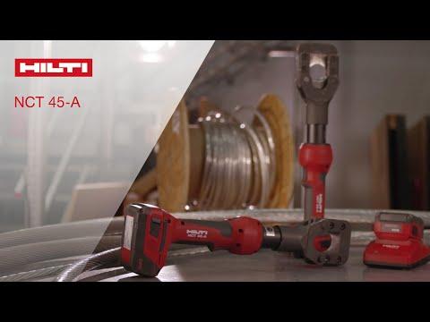 INTRODUCING Hilti's NCT 45-A Inline ACSR Cutter