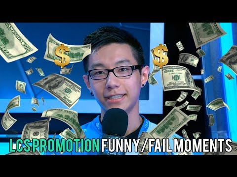 LCS PROMOTION FUNNY/FAIL MOMENTS   2016 Summer time Break up