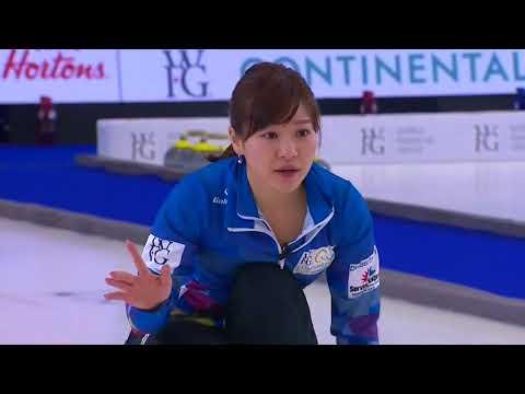 2018 World Financial Group Continental Cup of Curling - Homan vs. Fujisawa
