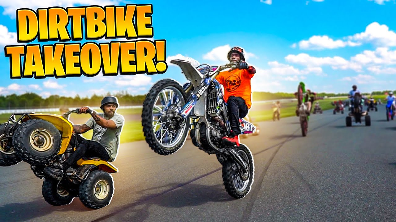 LITTLE BROTHER WHEELIES DIRTBIKES ON RACE TRACK WITH MMMBOOGIE !| BRAAP VLOGS