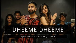 Download lagu DHEEME DHEEME | Tony Kakkar | Tejas Dhoke Choreography | Dancefit Live