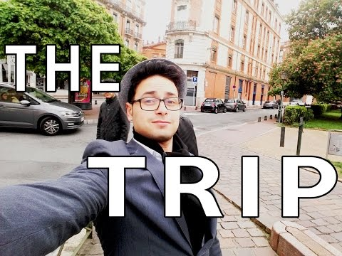 AMAZING TRIP TO TOULOUSE AND BARCELONA - TRAVEL THE WORLD PROJECT - 1 WEEK in 2 min
