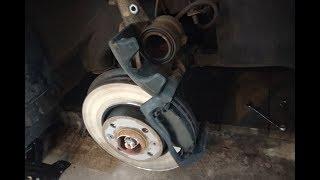 Lada Vesta. Замена передних тормозных колодок