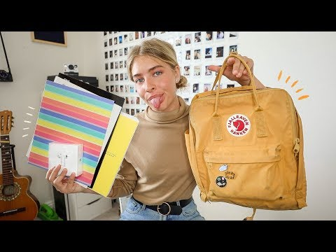 what's in my backpack *junior year* + school supplies haul 2019