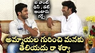 Prabhas HYPERACTIVE Interview Ever In His LIFE Saaho Team Sujeeth  Sharwanand