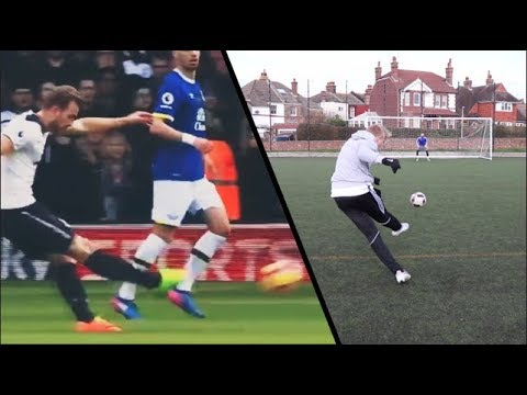 HARRY KANE FOOTBALL CHALLENGE