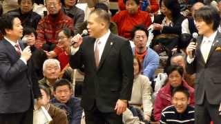 千原ジュニア、玉ノ井親方トークショー(第37回日本大相撲トーナメント)
