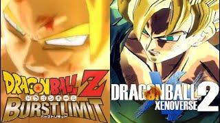 Dragon Ball Z Burst Limit's Ultimate Attacks Vs Dragon Ball Xenoverse 2's Ultimate Attacks!