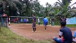 Takraw antar RW desa Tandun RW 04 vs RW 05