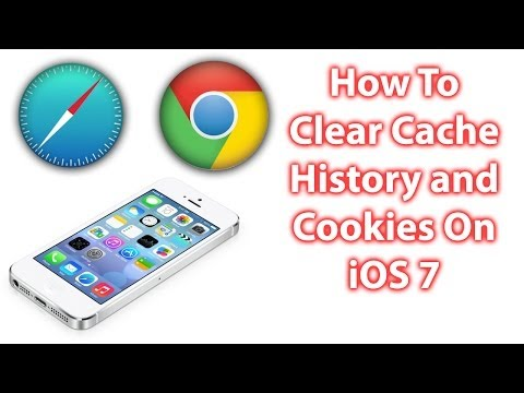 How To Clear Cache, Delete Cookies and Search History On The iPhone, Safari and Chrome
