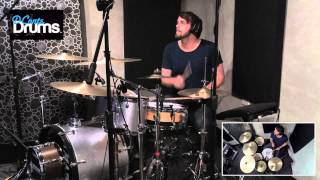 DConte Drums - Coldplay - In My Place - Drum Cover