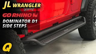 Go Rhino Dominator D1 Side Steps Review fo Jeep Wrangler JL