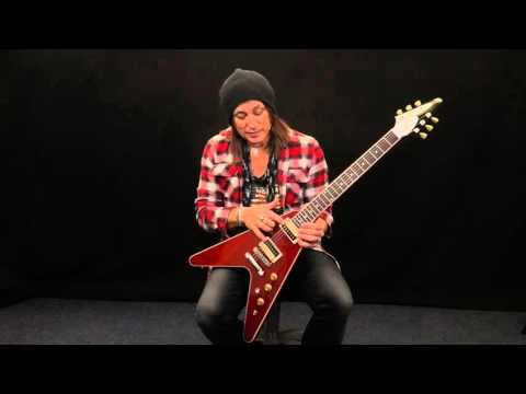 Gibson Flying V 2016 T, 77 Seconds W/Ryan Roxie