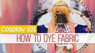Cosplay 101: How to Dye Fabric || MangoSirene