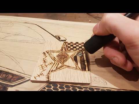 How To Wood Burn Straight Lines