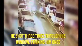 The surveillance video from last night's shooting has been released...