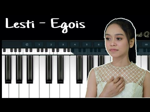 Lesti - Egois ( Simple Piano )