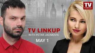 InstaForex tv news: TV Linkup May 1: Will USD extend losses? Technical analysis of EUR/USD, GBP/USD, USD/JPY