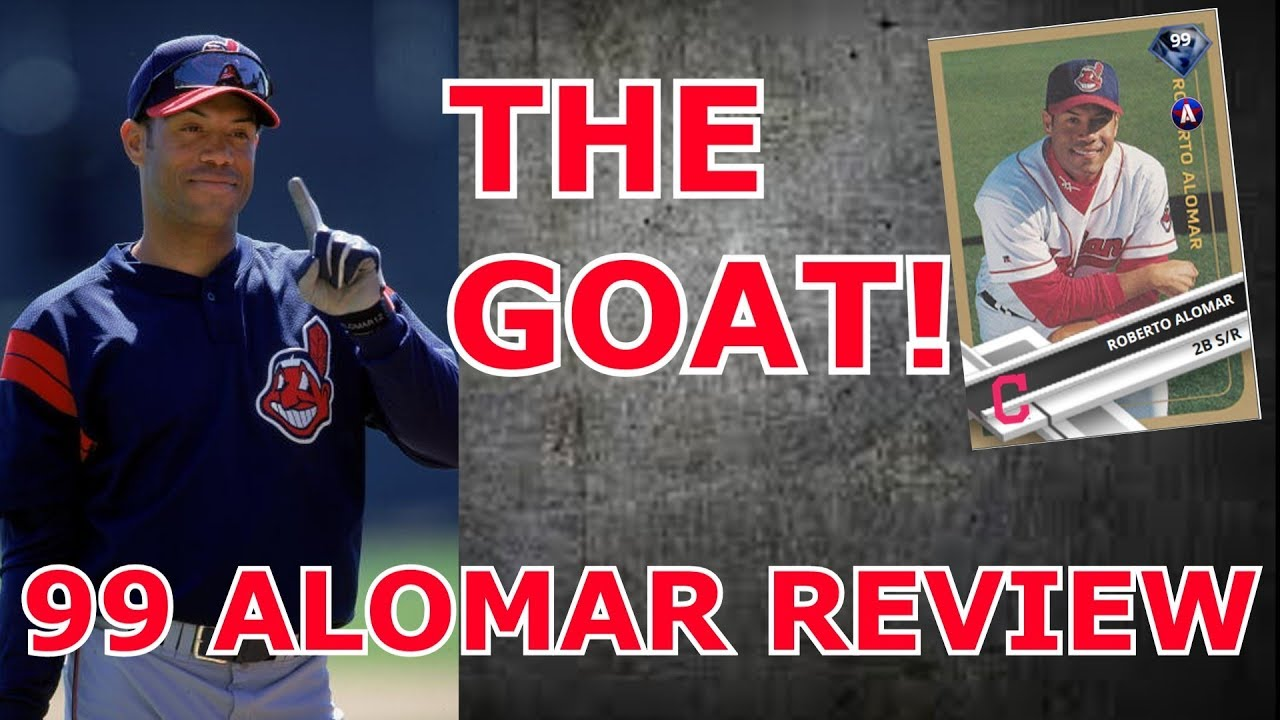 Can The 99 Alomar Get A Perfect Score Mlb The Show 17 Player Reviews