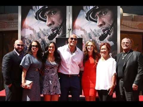 Dwayne Johnson Family  Photos  Father, Mother, Brother, Sister, Wife, Daughter & Girlfriend!!!