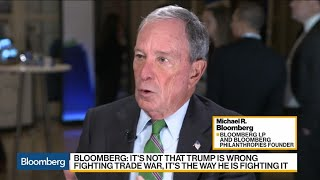 Bloomberg Cites Trade War as 'Failure of Our Government'