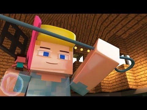 Toy Story 4 Bo Peep TV Spot Minecraft Animation