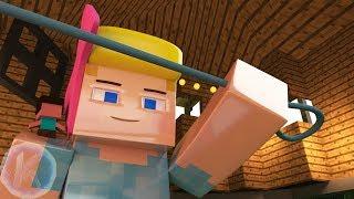 Toy Story 4 Bo Peep Spot de TV de Minecraft Animación