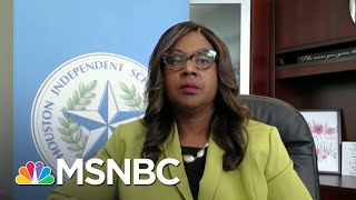HISD Interim Superintendent On Reopening The Largest School District In Texas | Craig Melvin | MSNBC